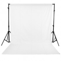White Lekera Backdrop 8 X 12 FT Photo Light Studio Photography Background