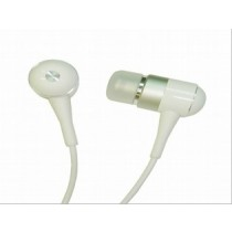 White Mini Speaker Earphone