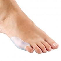 White Toe Loop Slide Foot Support