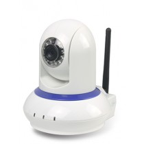 White Wireless IP Digital Camera