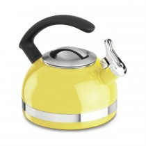 Yellow 1.9-Litre Kettle With C-Handle