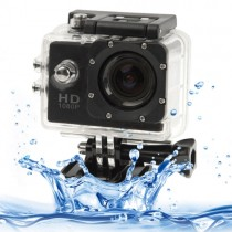 Black 1.5 Inch LCD Sports Camcorder With Waterproof Case