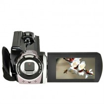 Black 16.0 Mega Pixels 16X Digital Zoom Video Camera Recorder