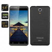 Black 5.5 Inch HD Screen Smartphone