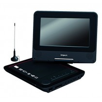 Black 7 Inch Portable DVD Player