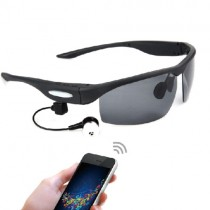 Black Bluetooth V3.0 Stereophonic Smart Sunglasses