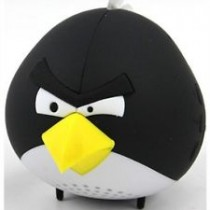 Black Color Angry Bird Portable MP3 Speaker