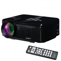 Black Home Theater 640X480 Mini Projector With Remote Control
