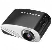 Black Portable Micro Projector Home Theater