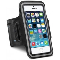 Black Sports Running Armband Case Cover Holder