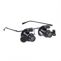 Black Watch Repair Magnifier With LED Light