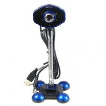Blue High Definition UVC Microphone Night Vision Webcam