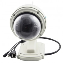 Cut Pan-Tilt CMOS Sensor Wireless Dome IP Camera