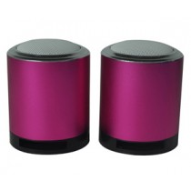 Double Vibrating Hi-Fi Metal Speakers