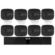 Durable 8 Channel HD NVR Outdoor Cameras