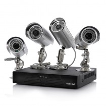 DVR 4 Camera Surveillance Kit
