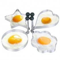 Excellent Design Stainless Steel 4 Pcs Pancake Mold