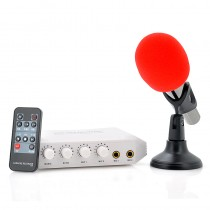 Karaoke Recorder and Mixer With Microphone