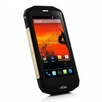 Latest Black 5.0 Inch OS Android 4.4 Rugged Phone