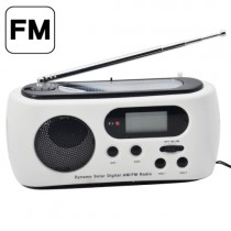LED Flashlight Mobile Phone Charger With AM/FM Radio