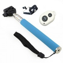 Monopod Rod Pole With Bluetooth Shutter Remote
