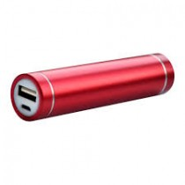 Red Color Lighter Design 2600 mAh Portable Power Bank