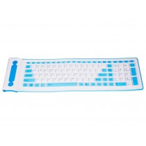 Round 103 Keys Silicon Flexible Keyboard