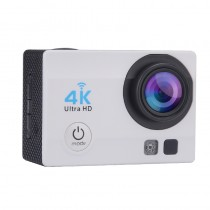 Silver 2 Inch LCD Display Wi-Fi Waterproof Sports Action Camera - 2