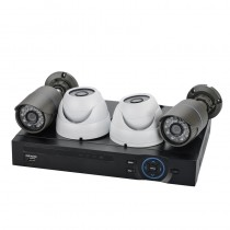 Stylish 4 Channel NVR Kit