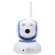 Super Mini Wireless WiFi 1.0 Mega Pixels Lens Tilt IP Camera