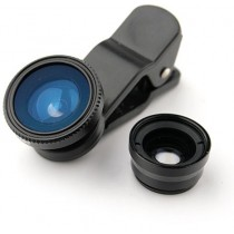 Universal 3 in 1 Clip-On Fish Eye Lens
