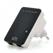 Wall Powered Mini Portable Wireless-N Router