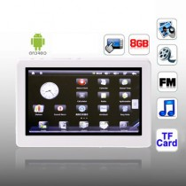 White 5 Inch TFT Touch Screen MP5 Player With Support FM Radio