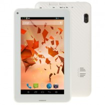 White 7.0 Inch Android 4.2 2G Phone Call Tablet
