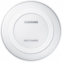 White Samsung Wireless Fast Charger