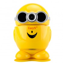 Yellow 355 Degree Rotation Baby Monitor IP Camera